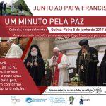 """""""Um minuto pela paz"""" hoje: Igreja no Brasil unida ao pedido do Papa"""