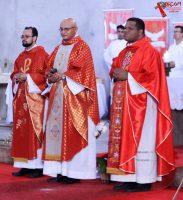 Missa de envio da Folia Presidida pelo Frei Geraldo