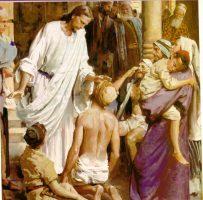 """""""Um leproso chegou perto de Jesus..."""" (Mc 1, 40)"""