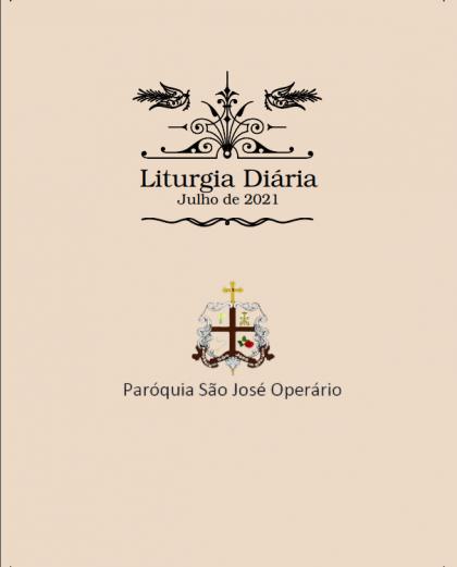 Liturgia diária de julho de 2021